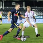 Samuel Major, FC Liefering, Christopher Cvetko, FC Juniors OÖ