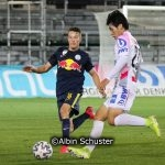 Samuel Major, FC Liefering, Hyunseok Hong, FC Juniors OÖ
