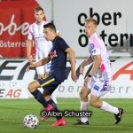 Samuel Major. FC Liefering, Christopher Svetko, FC Juniors OÖ